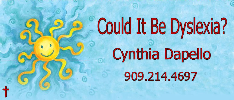 Could It Be Dyslexia? - Cynthia Dapello